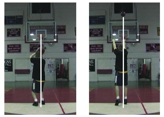 Video analysis screenshot